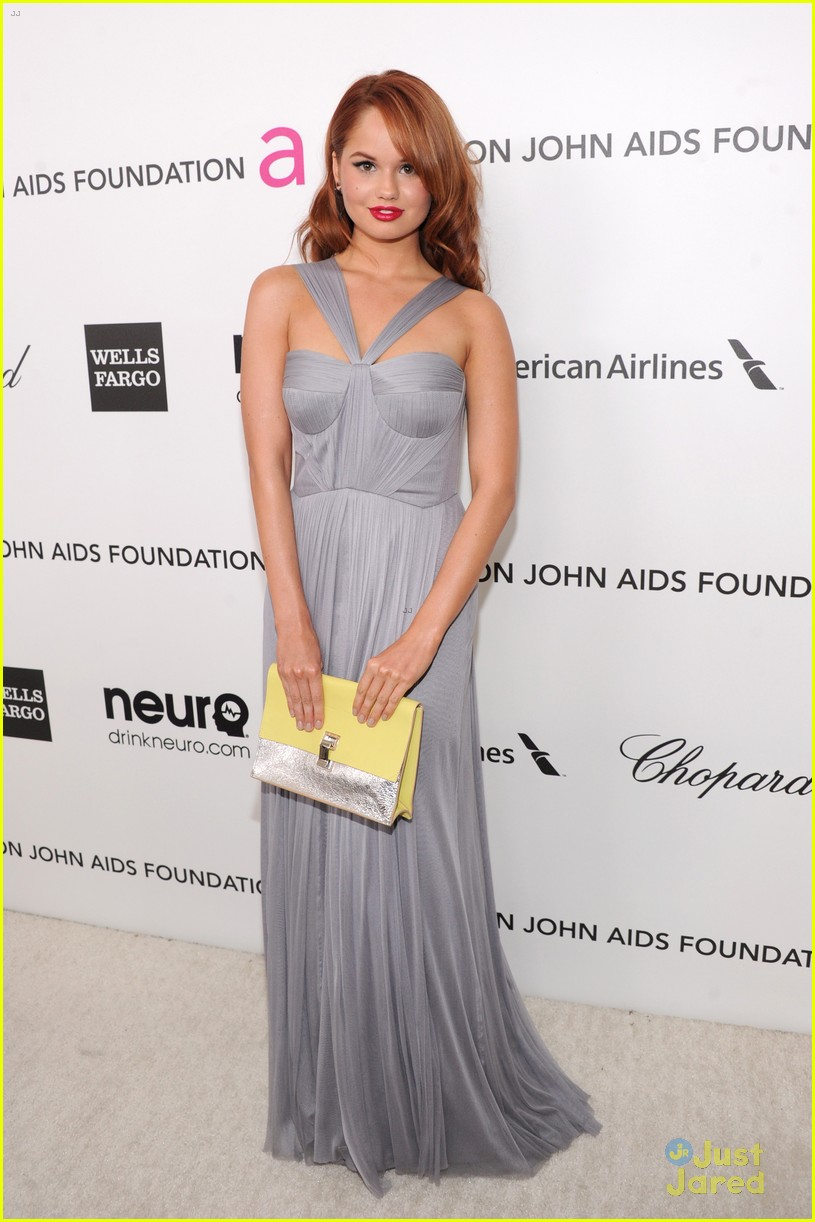 debby ryan ejaf oscars party 2013 01