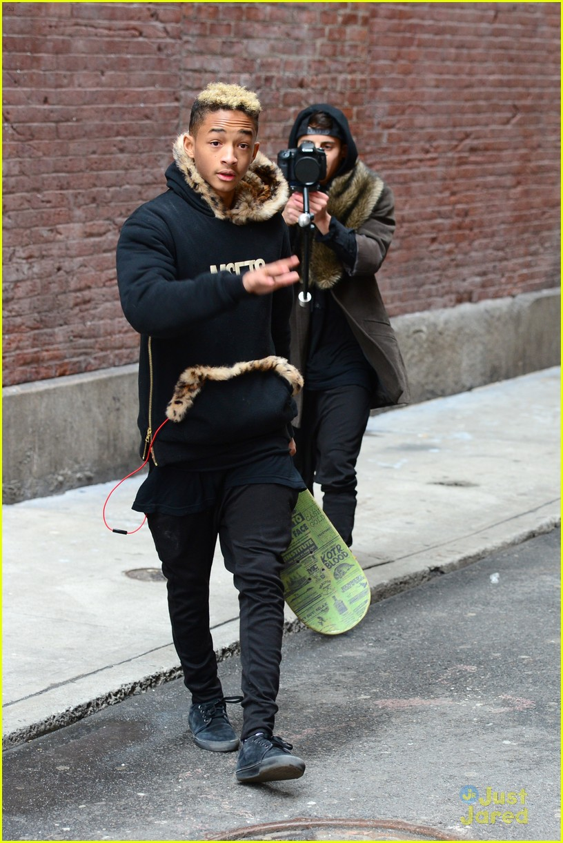 jaden willow smith nyc music video shoot 43