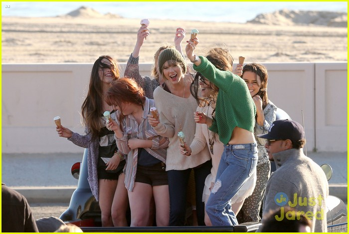 taylor swift 22 music video shoot 03