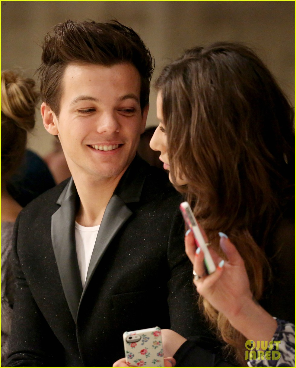louis tomlinson london fashion week eleanor calder1 18