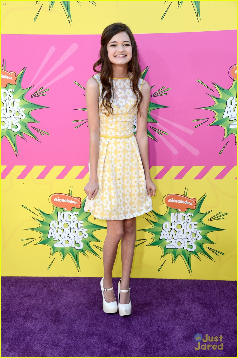 ciara bravo kids choice awards 2013 red carpet 03