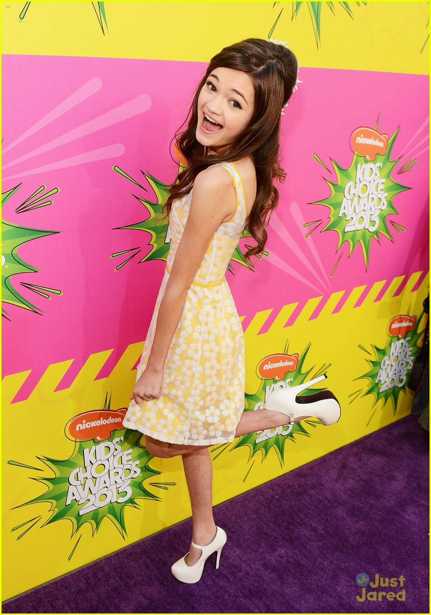 ciara bravo kids choice awards 2013 red carpet 05