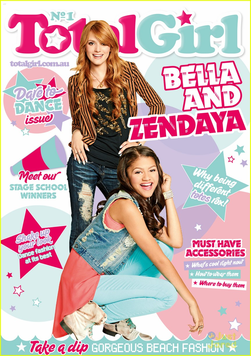Zendaya & Bella Thorne Cover 'Total Girl' March 2013 ...