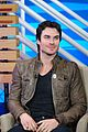 Ian-buzz ian somerhalder big morning buzz stop 11