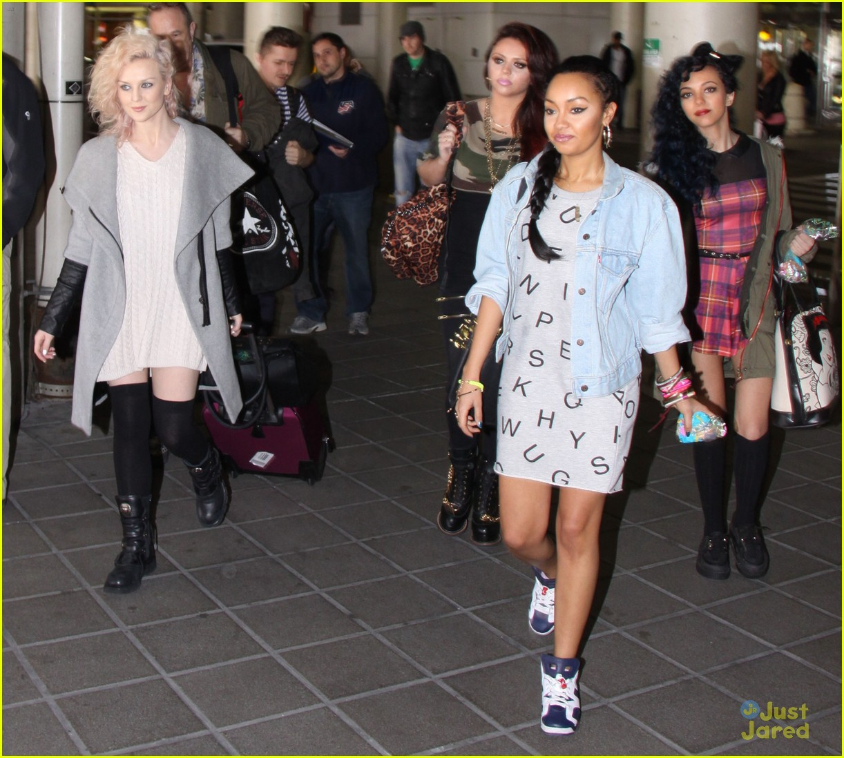 little mix baltimore arrival 10