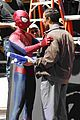 Andrew-jamie andrew garfield spider man filming with jamie foxx 04