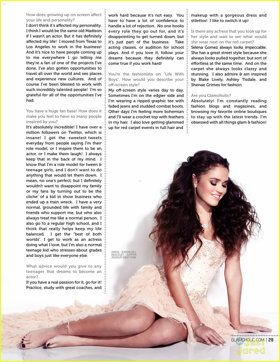 madison pettis 2017 with straight hair - photo #32