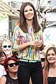 Vic-extra victoria justice extra appearance at the grove 14