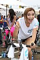 Aly-bike alyson stoner pedal on the pier benefit 2013 05