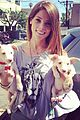 Ash-dogs ashley greene adopts two adorable puppies 01