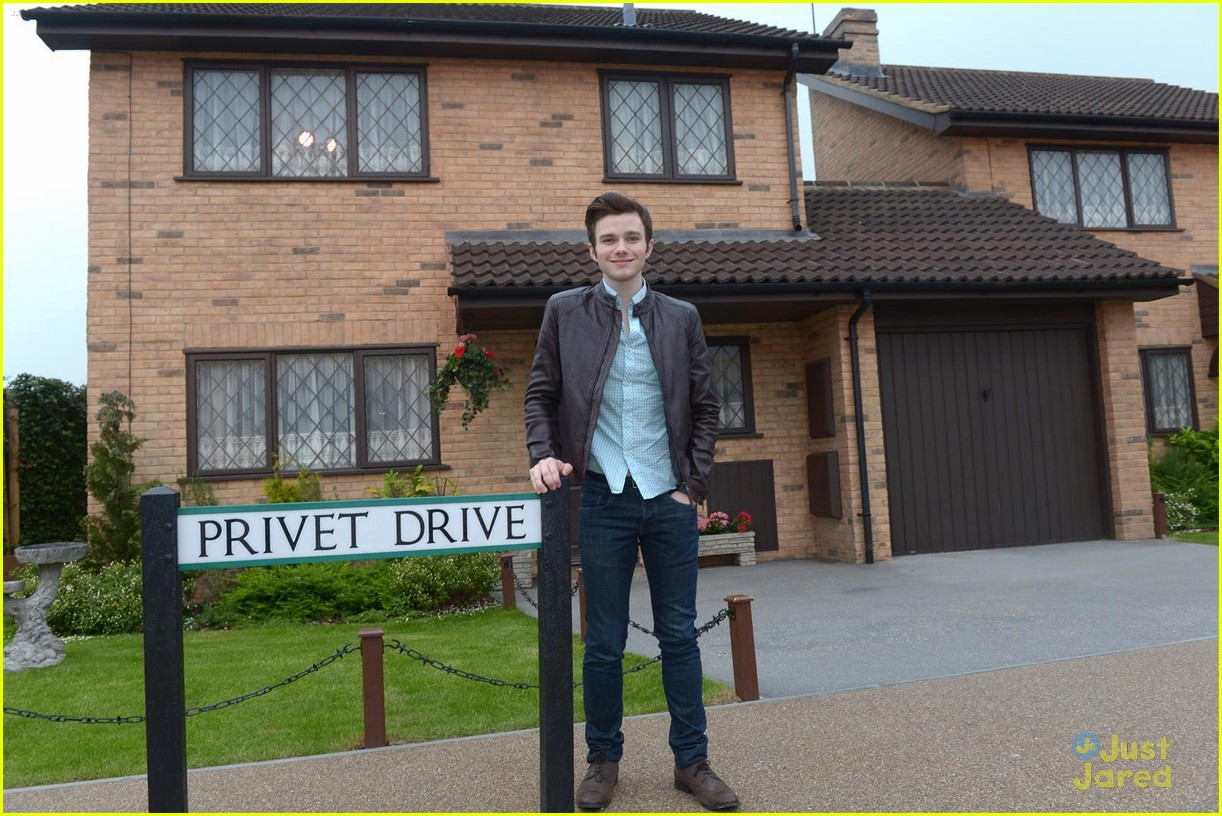 chris colfer hp studio tour london 03