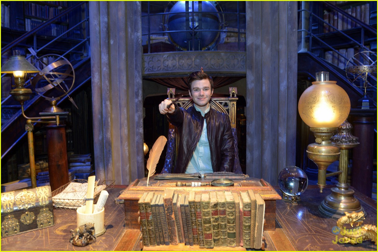 chris colfer hp studio tour london 14