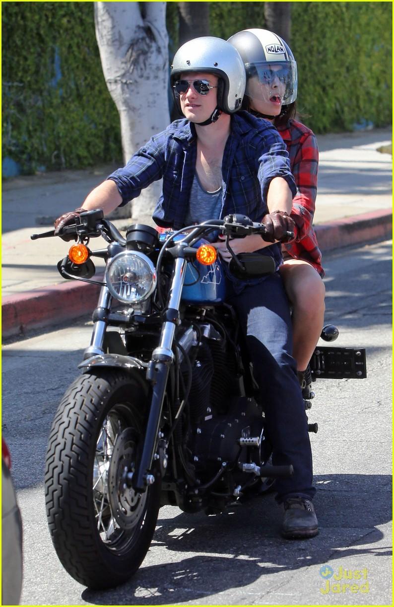 Josh hutcherson motorcycle photoshoot