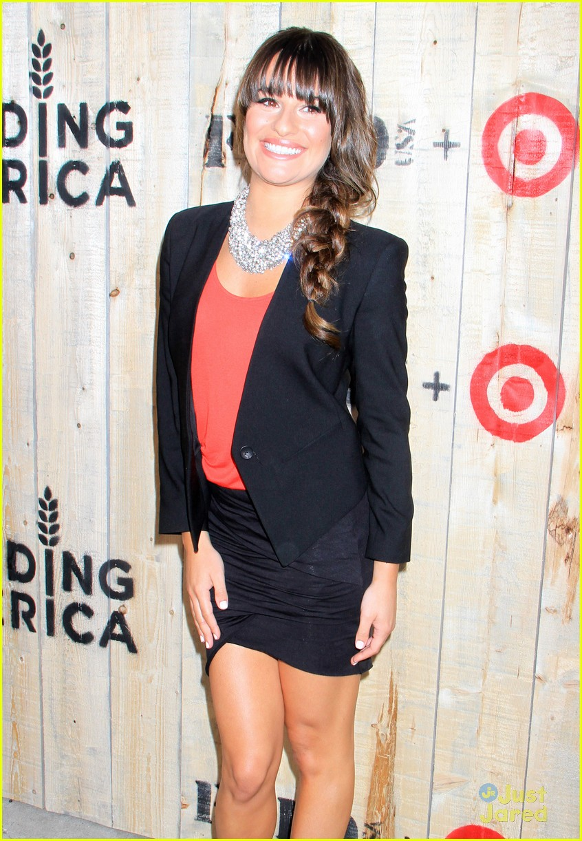 lea michele feed usa target vip event hostess photo 570532 lea michele feed usa target vip hostess 03