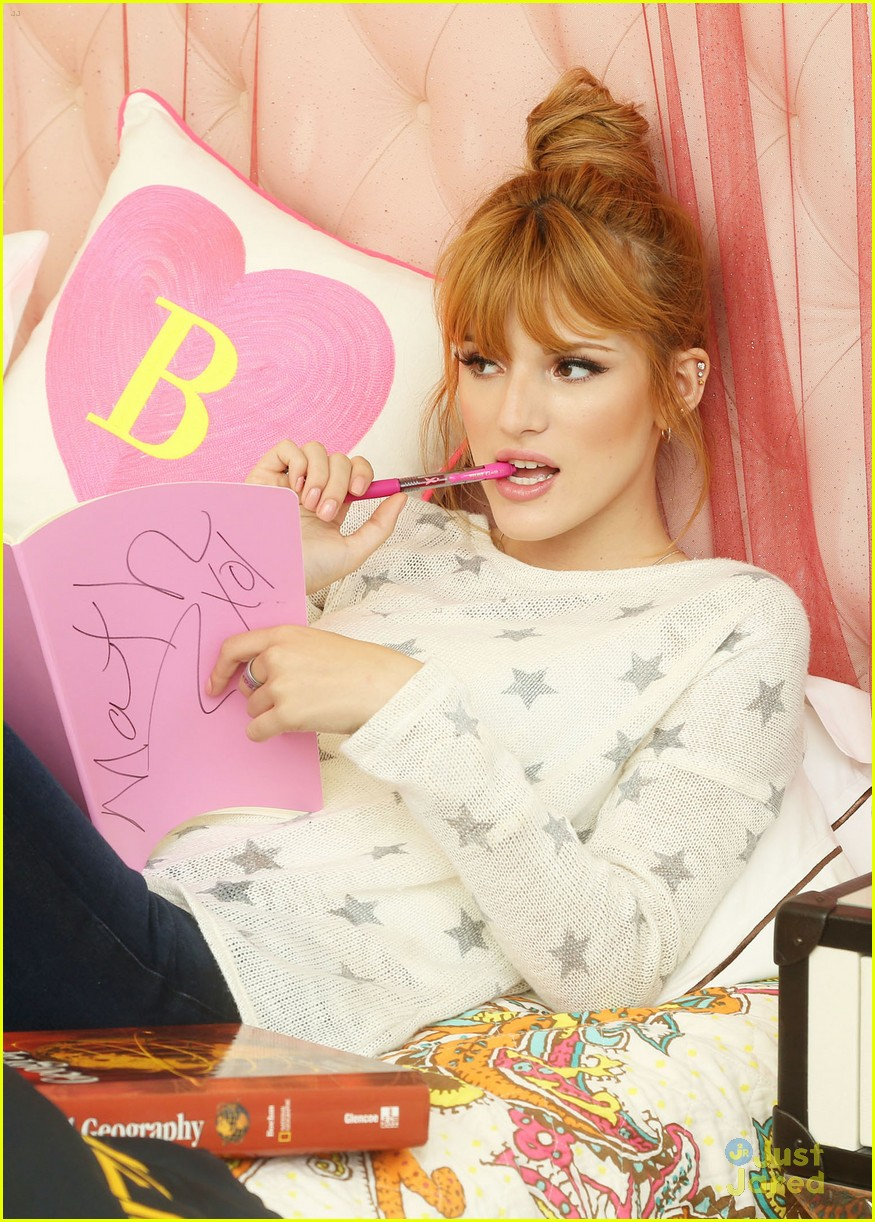 bella thorne primps shoshanna shoot 08