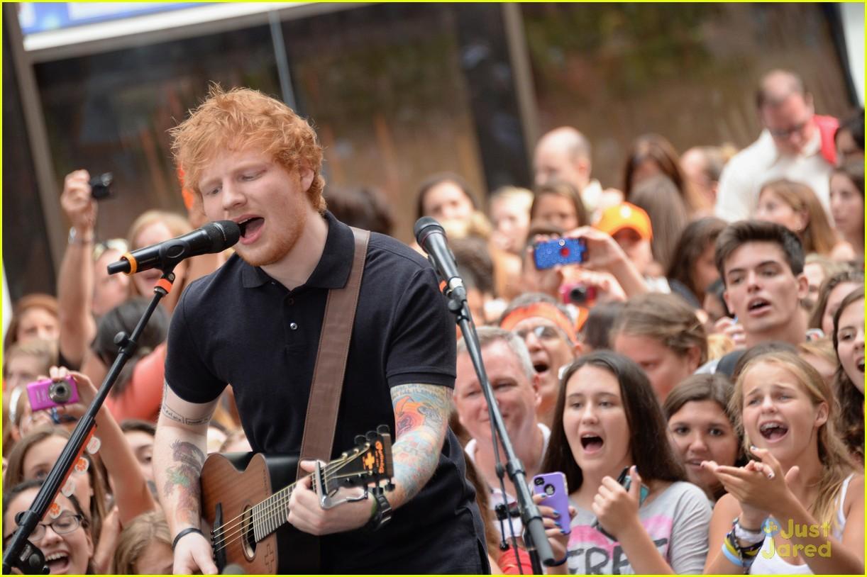 ed sheeran today show pics video 10