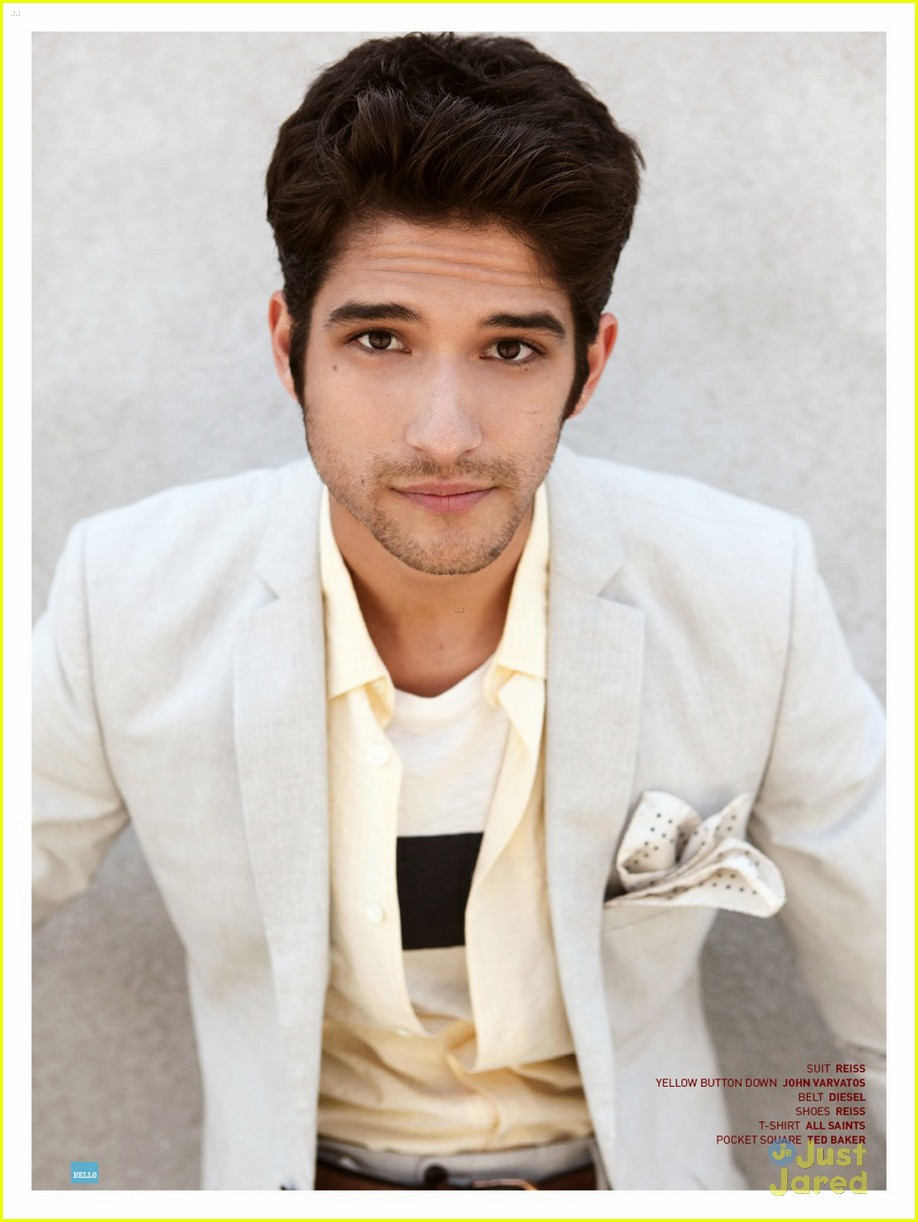About This Photo Set  Tyler Posey takes over the July 2013 cover of    Tyler Posey Photo Shoot 2013