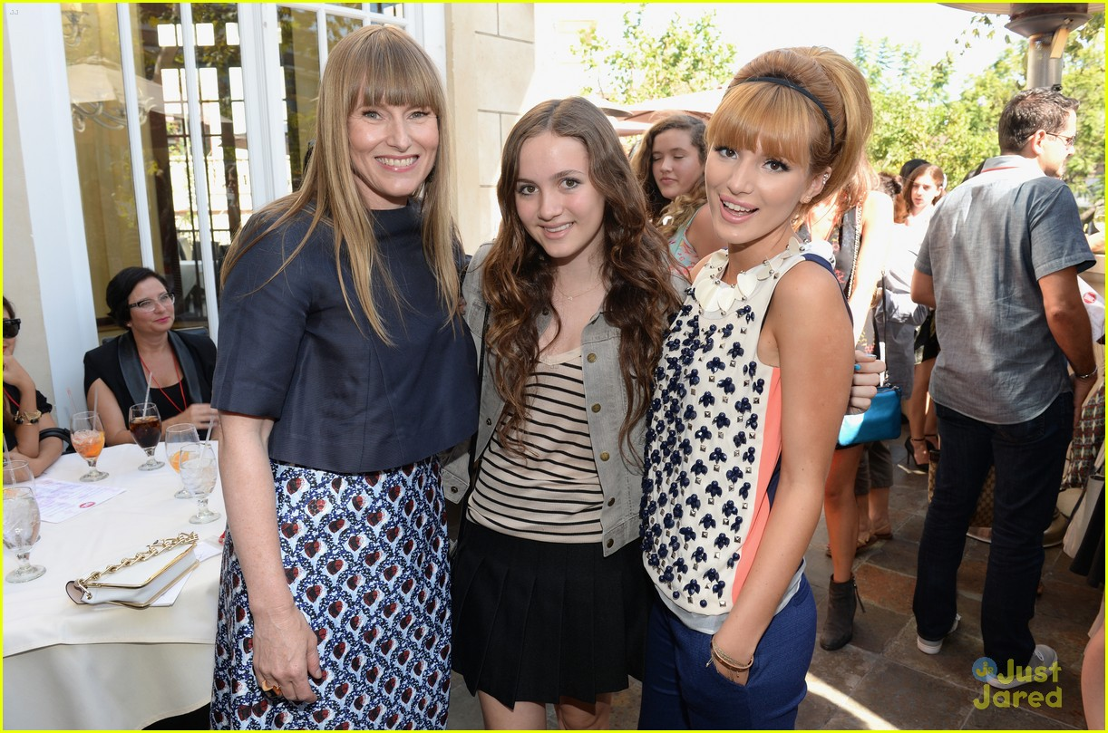 bella thorne maude apatow tv bts event 04