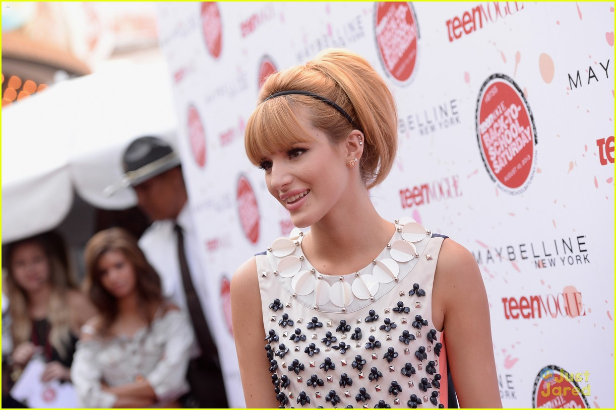 bella thorne maude apatow tv bts event 12