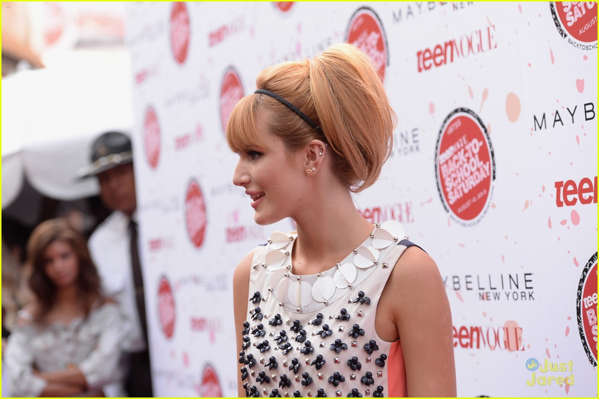 bella thorne maude apatow tv bts event 21