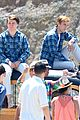 Brett-jake brett davern jake abel graham rogers beach boys filming 18