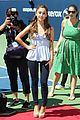 Grande-arthurashe ariana grande the wanted arthur ashe kids day 04