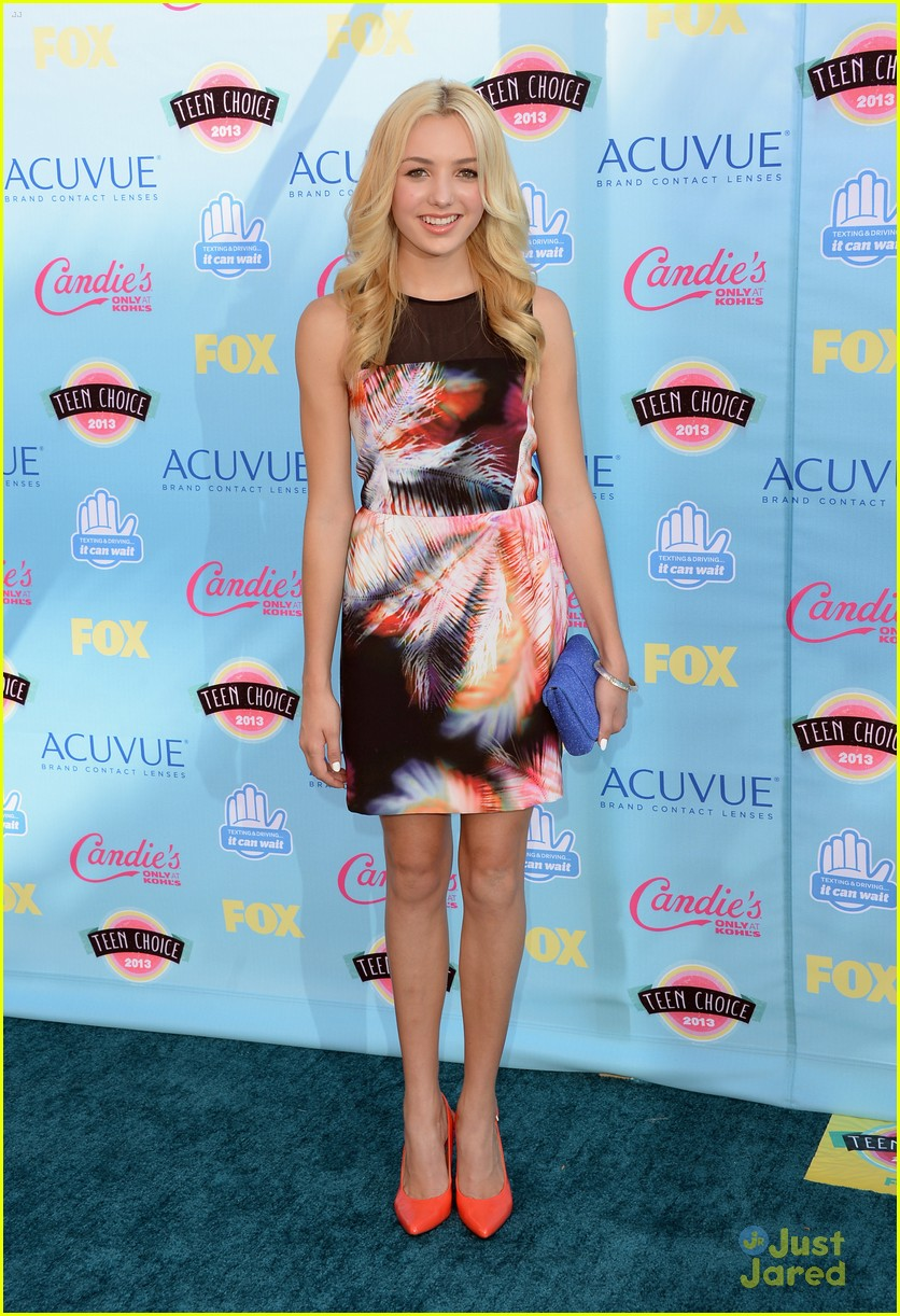 peyton list teen choice awards 2013 05