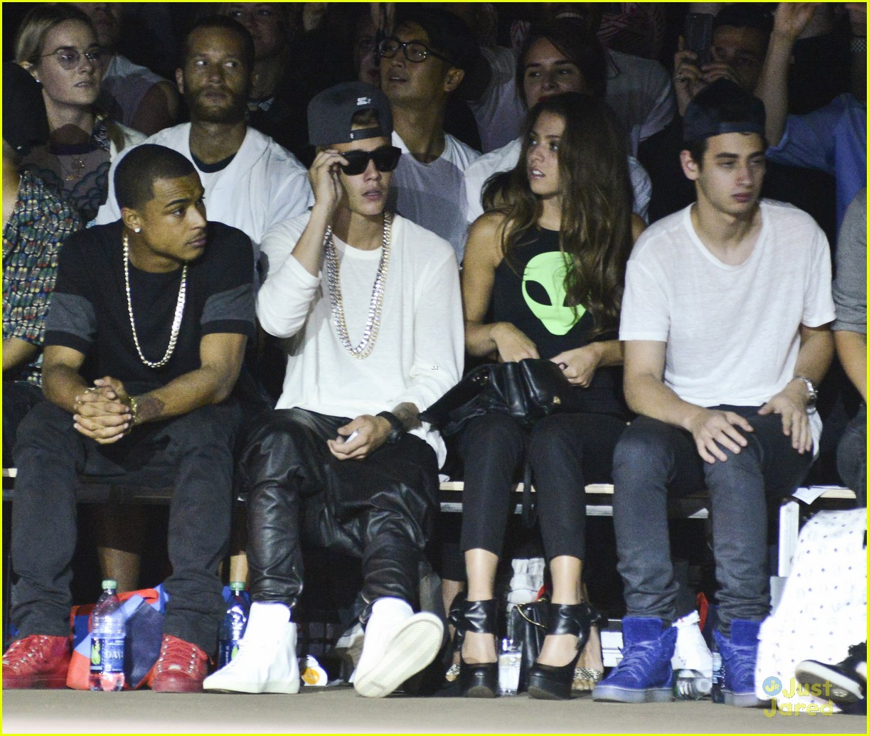 Justin Bieber Fashion Week Opening Ceremony Photo 595711 Photo Gallery Just Jared Jr
