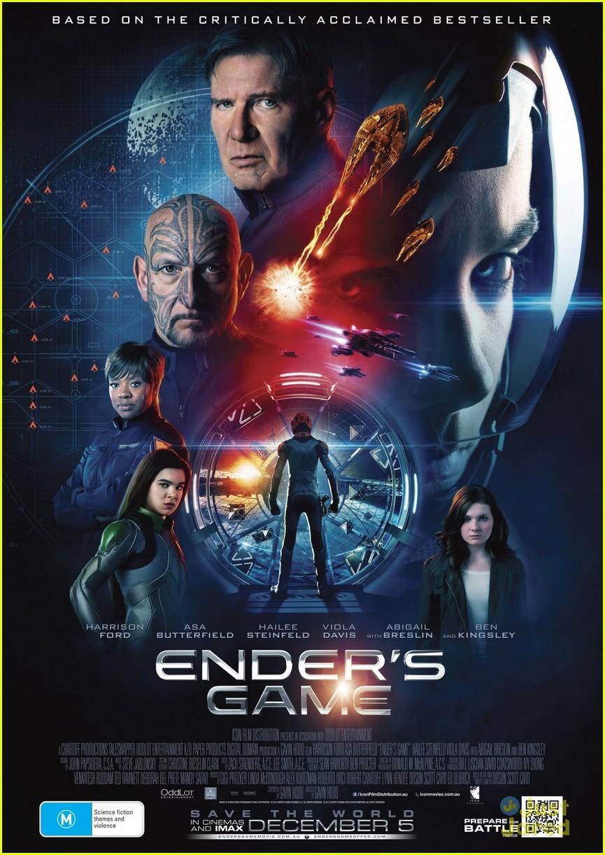 Asa Butterfield & Hailee Steinfeld: New 'Ender's Game ...