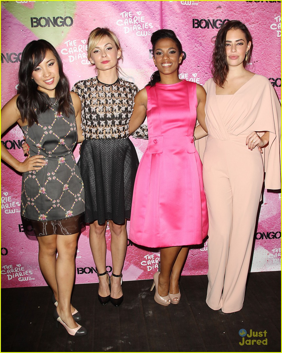 katie findlay ellen wong carrie diaries premiere pair 30