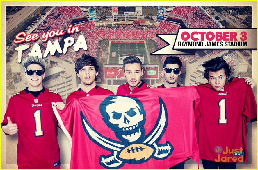 ONE DIRECTION at RayJay @ Raymond James Stadium | Tampa | Florida | United States