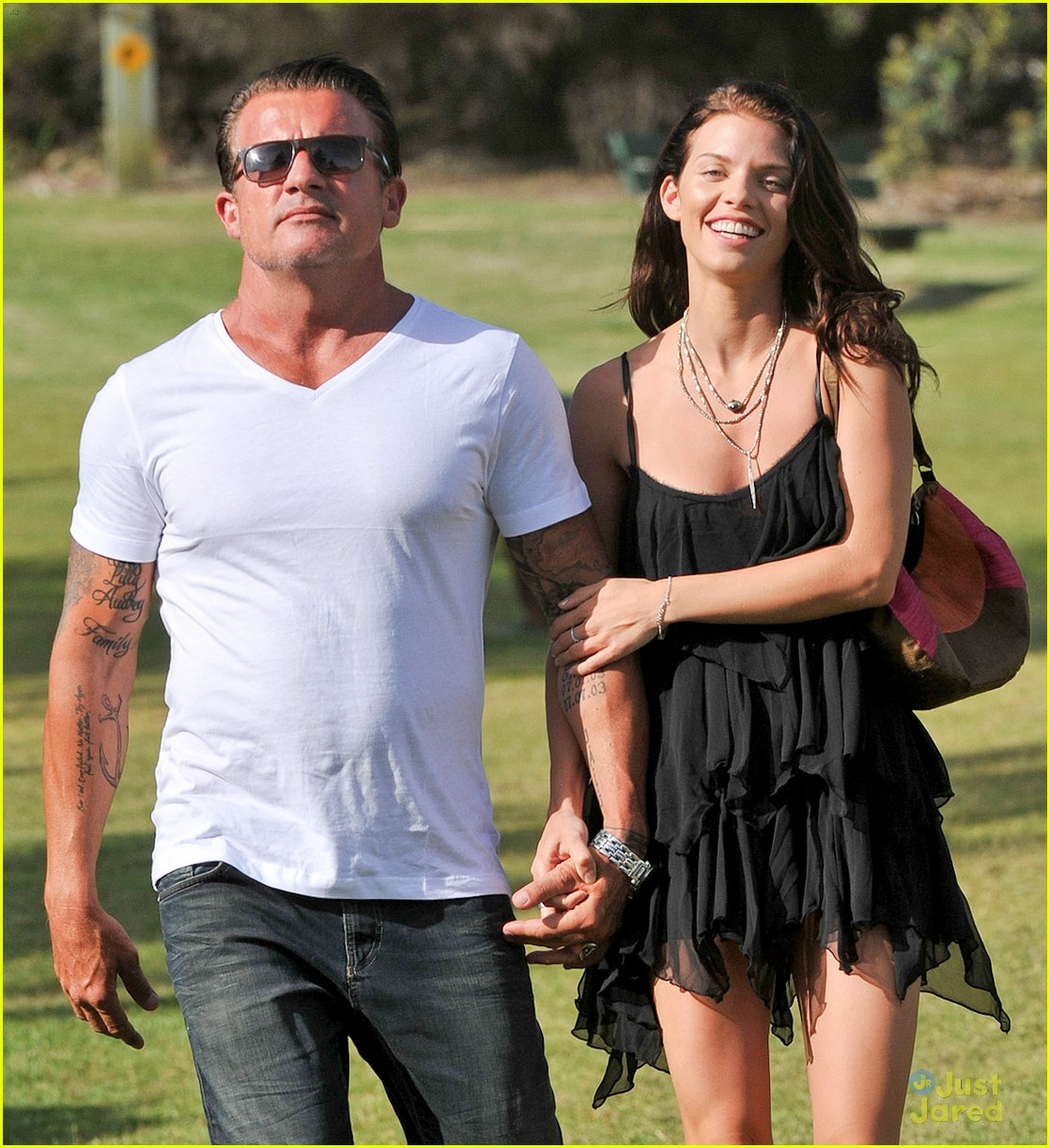 Dominic Purcell And Annalynne Mccord AnnaLynne McCord  amp Dominic
