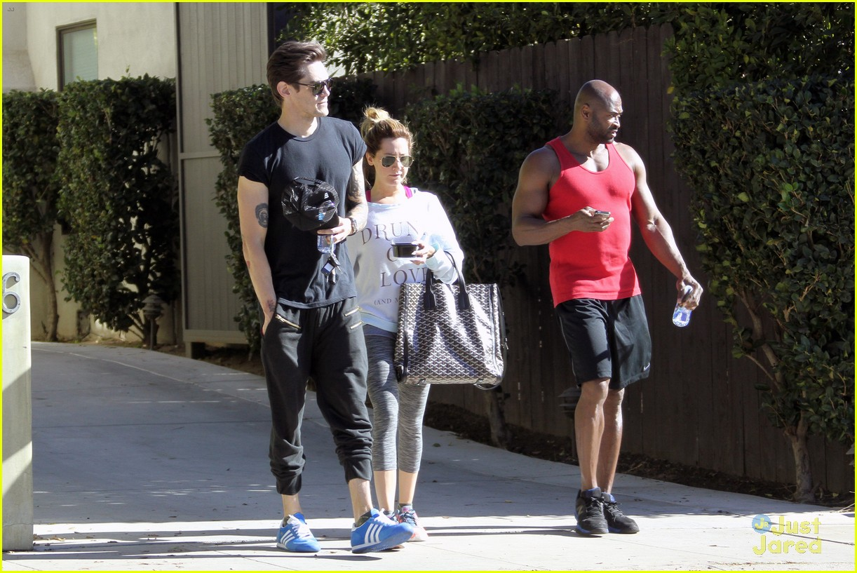 ashley tisdale christopher french mid week workout 19