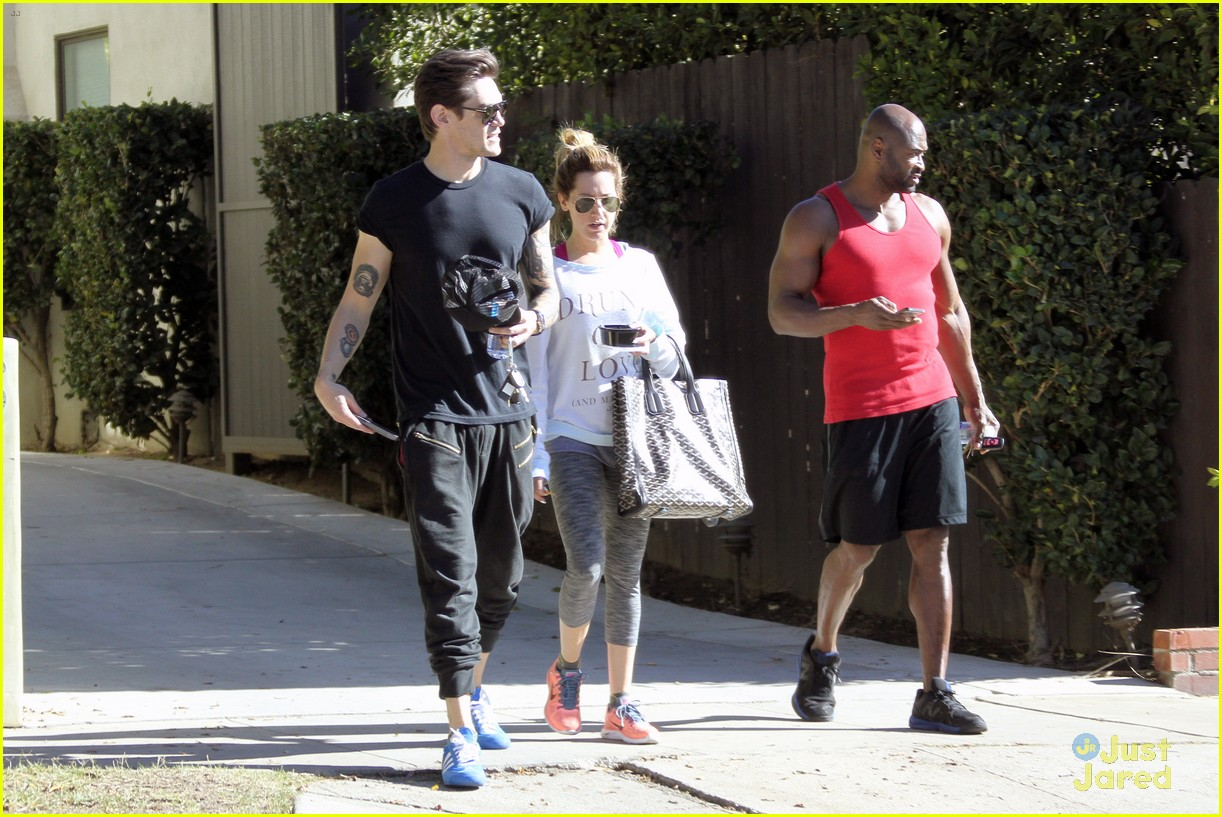 ashley tisdale christopher french mid week workout 22
