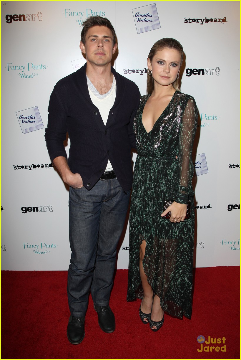 rose mciver chris lowell brightest star la premiere 13