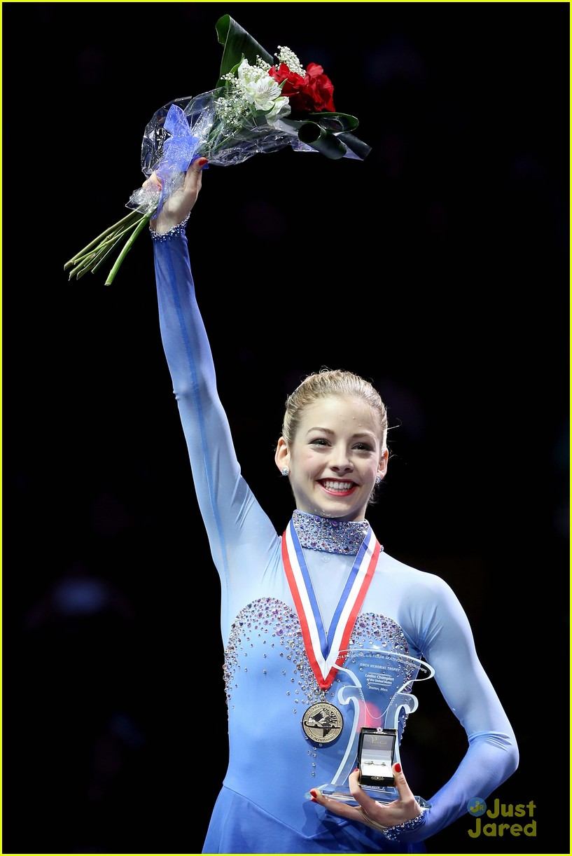 Adult,Bestof,Boston - Massachusetts,Celebration,Competition,Figure Skating,Gracie Gold,Massachusetts,Medal,Medalist,Skating,Snowboarding,Sport,TD Garden,Topics,Topix,U.S. Figure Skating Championship,USA,Vertical,Winners Podium...