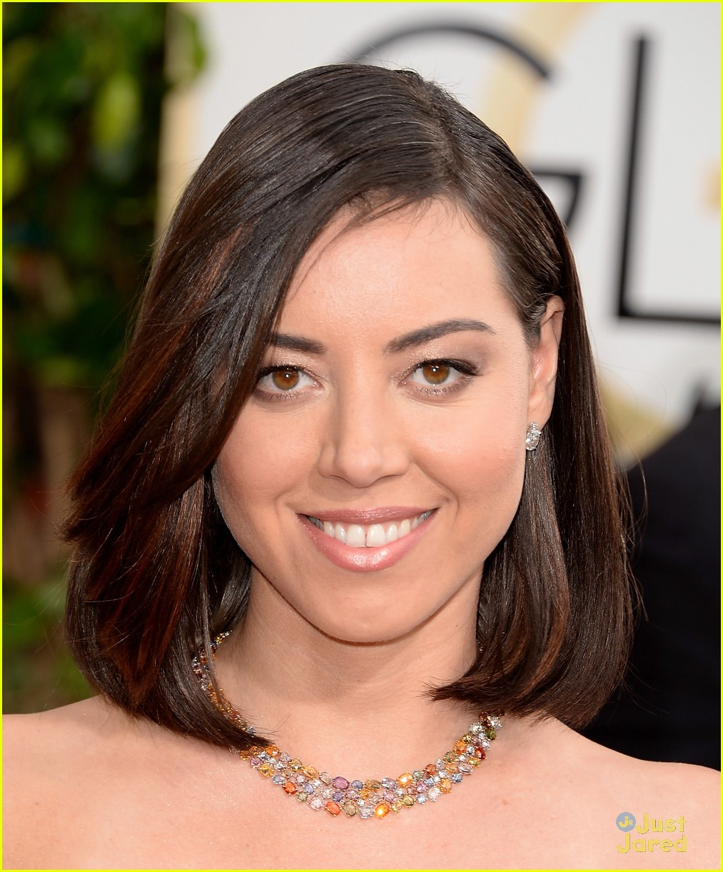 Aubrey Plaza - Golden Globes 2014: Red carpet - Pictures ...