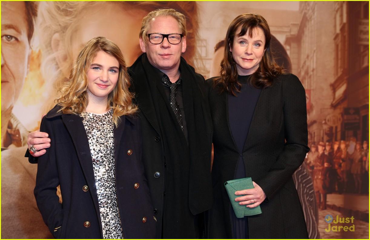 Nico liersch family - Sophie Nelisse Book Thief German Premiere 04