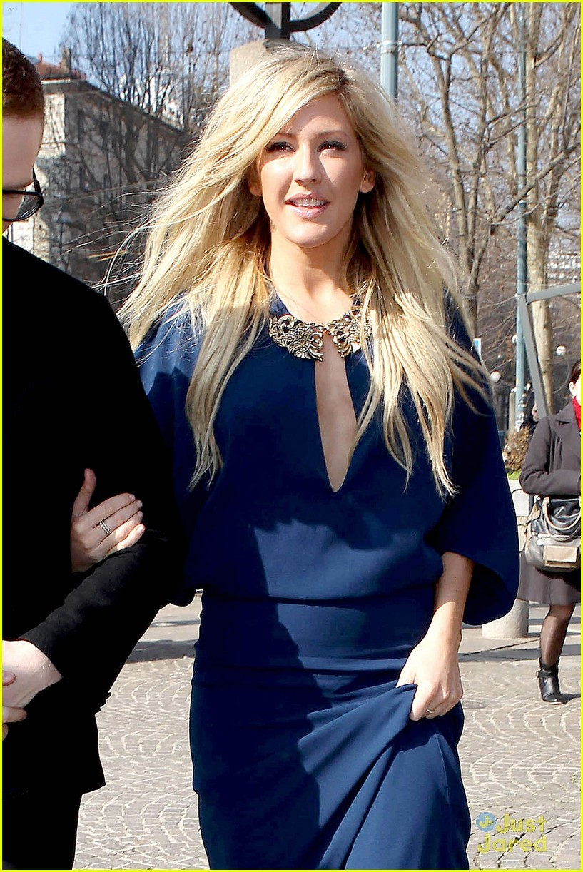 Ellie Goulding Roberto Cavalli Show At Milan Fashion Week Photo 646288 Photo Gallery Just