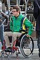 Kevin-chair kevin mchale wheelchair crash glee scenes 03