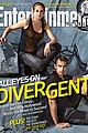 Shai-ew shailene woodley theo james  divergent covers entertainment weekly 01