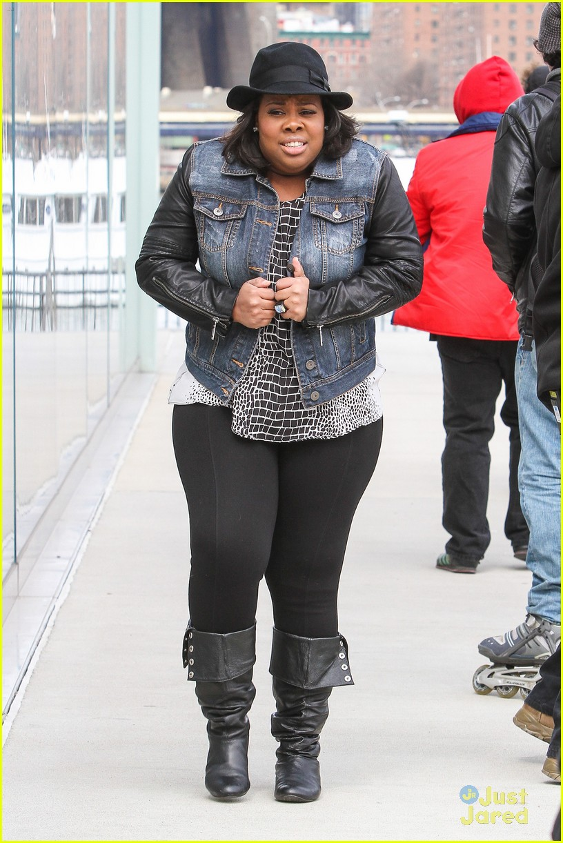 amber riley freestyle