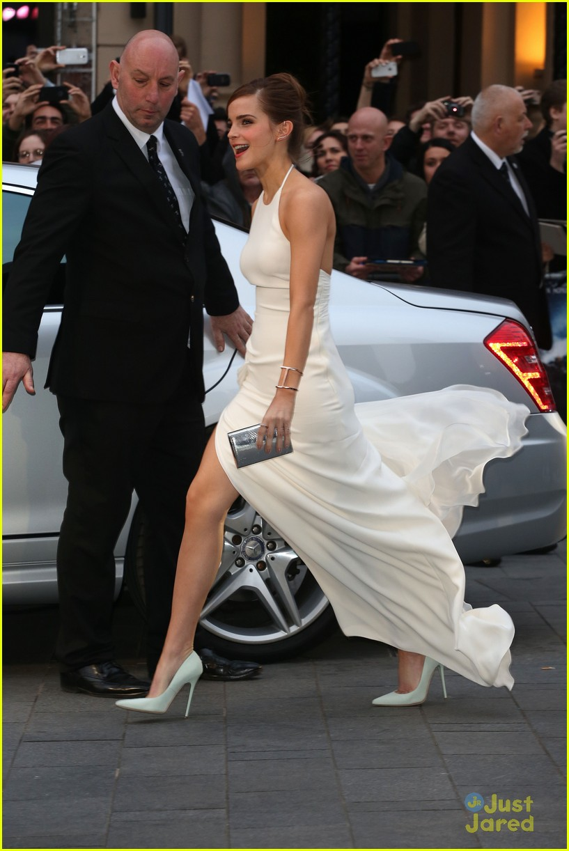 Douglas Booth And Emma Watson Noah Emma watson leg noah londonDouglas Booth And Emma Watson Noah