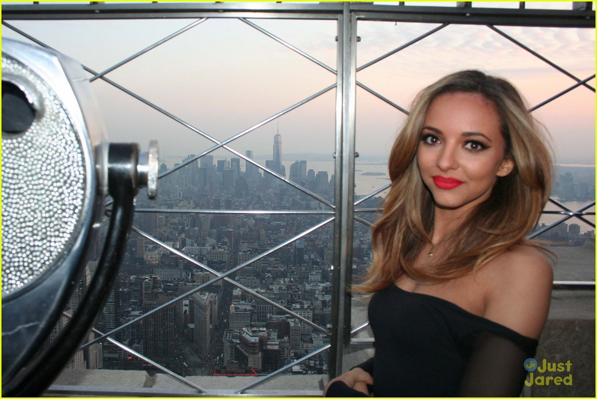Little Mix 39 S Jade Thirlwall Empire State Building Stop