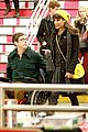 Lea-kevin lea michele kevin mchale glee grand central 08