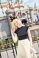 Elle-horns elle fanning maleficent horns disneyland boyfriend 04