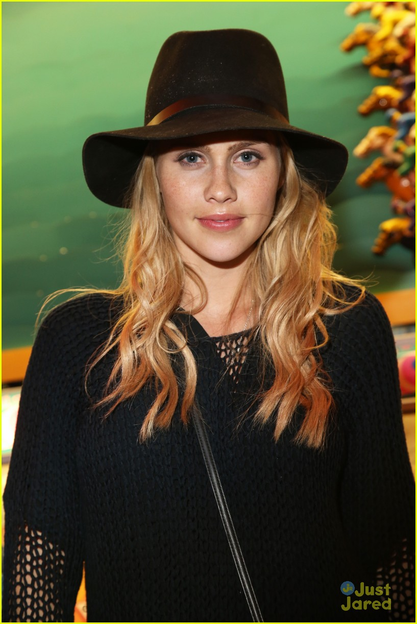 claire holt and nicole anderson show off a little leg at coachella 201402