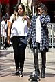Jenners-coasts kendall jenner leaves nyc kylie jenner gas lunch 10