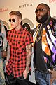 Bieber-ross justin bieber gets shirtless while partying in cannes 17