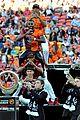 Derulo-soccer jason derulo jumps around at the australian football a league grand final09